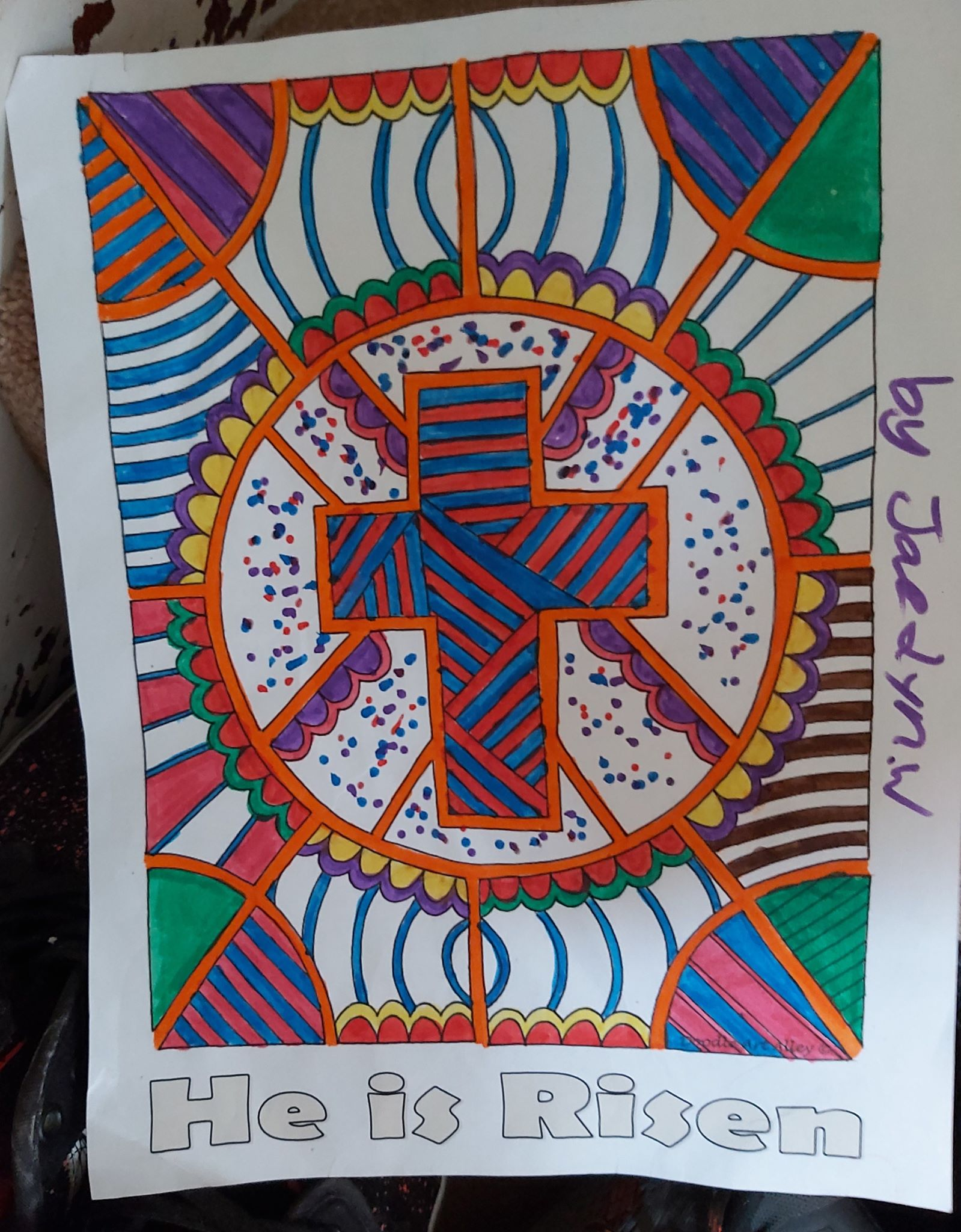 Jaedyn's colouring page